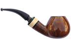 Bent Brandy Smoking Pipe