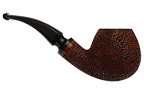 Lava Rock Rusticated Brandy Smoking Pipe