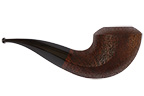 Leather Rusticated Bullhorn Smoking Pipe